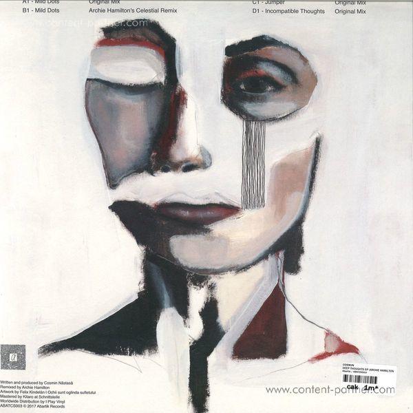 "Cosmjn - Deep Thoughts Ep (2x12"") (Back)"