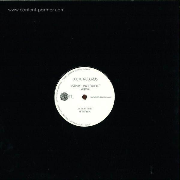 Cosmjn - Naiti Nait Ep (Vinyl Only) (Back)