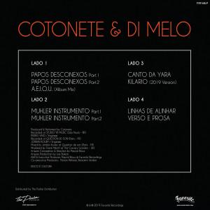 Cotonete & Di Melo - Atemporal (2LP (Back)