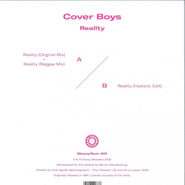 Cover Boys - Reality (Back)