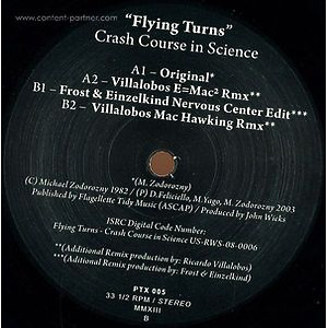 Crash Course In Science - Flying Turns (Black Vinyl)
