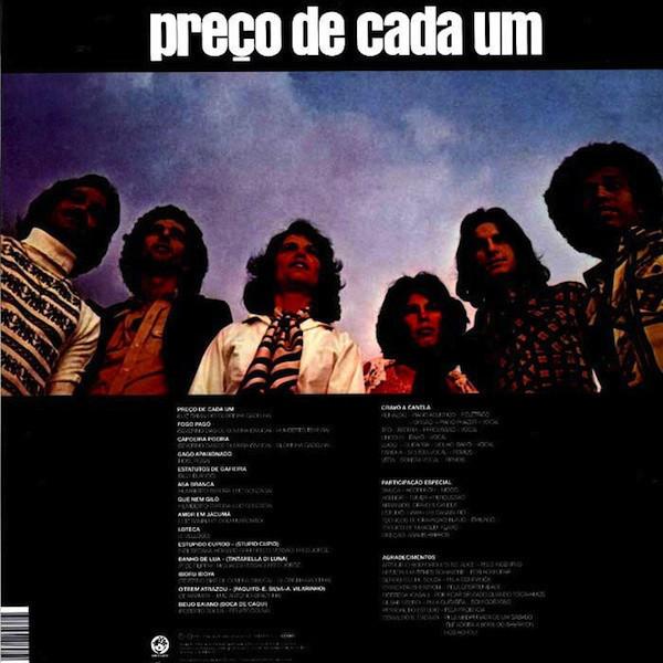 Cravo & Canela - Preco De Cada Um (Reissue) (Back)