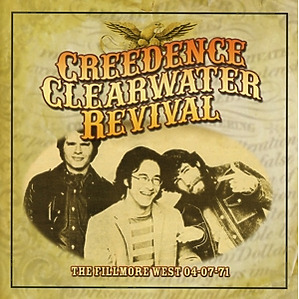 Creedence Clearwater Revival - The Fillmore West 04-07-71