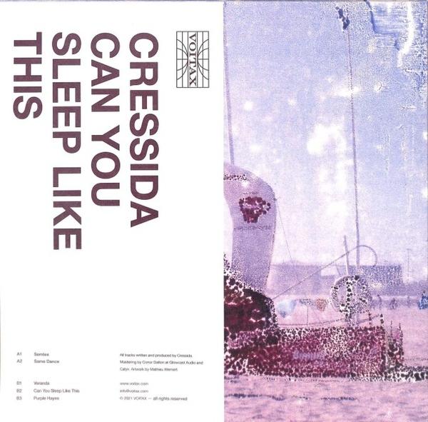 Cressida - Can You Sleep Like This (Back)