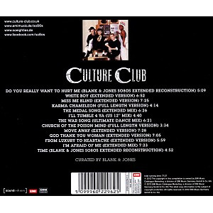 Culture Club - So80s Presents Culture Club/Curated By B (Back)