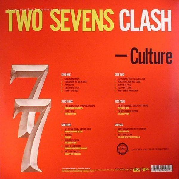Culture - Two Sevens Clash (3LP/40th Anniversary Edition) (Back)