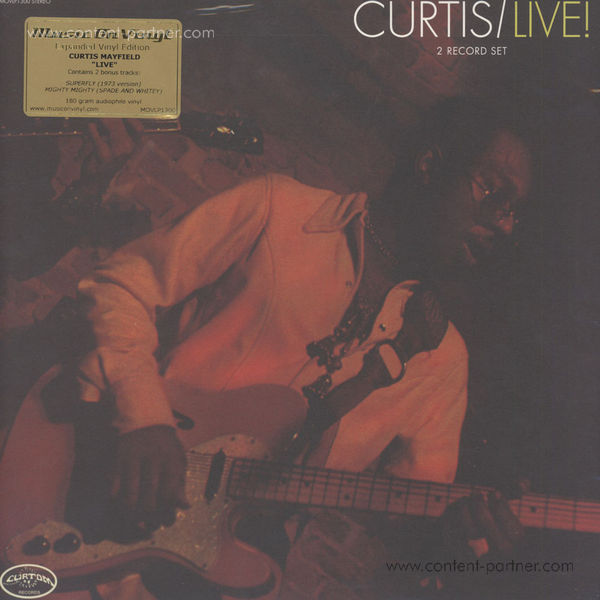 Curtis Mayfield - Curtis / Live! - Expanded (2LP)