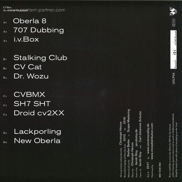 Cvbox - So Ist Es Im Nadelwald (Back)