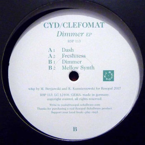 Cyd / Clefomat - Dimmer EP