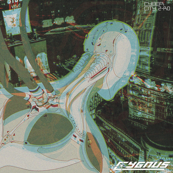 Cygnus - Cybercity Z-ro Lp (2lp; Light Green Marbled)