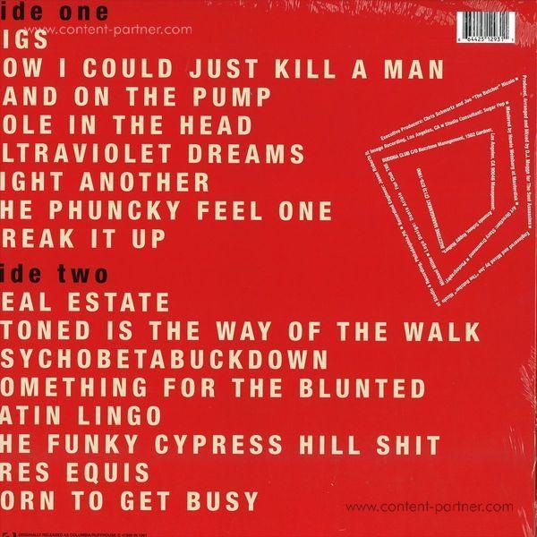 Cypress Hill - Cypress Hill (Vinyl LP) (Back)