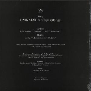 DARK STAR - MIX TAPE 1989-1991 LP (Back)