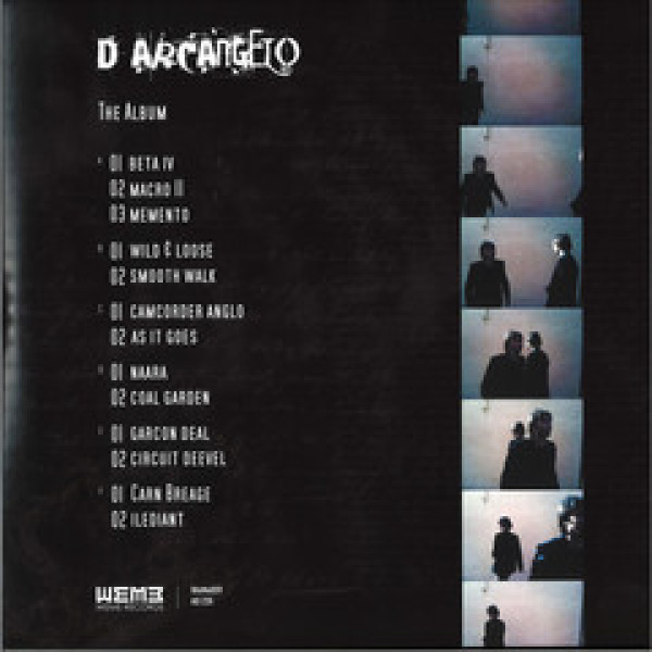 D'Arcangelo - The Album (Back)