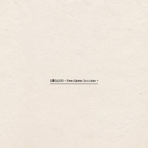 DÉCADES - PREMIÈRES DONNÉES LP (Back)