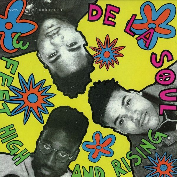 DE LA SOUL - 3 FEET HIGH & RISING