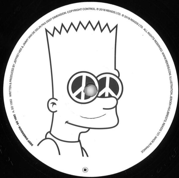 DEEP DIMENSION - SO 1992 (INC. RADIO SLAVE & P. LEONE REMIXES)