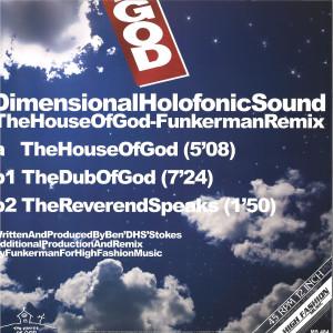 DHS - THE HOUSE OF GOD (FUNKERMAN REMIX) (Back)