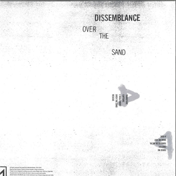 DISSEMBLANCE - OVER THE SAND (Back)