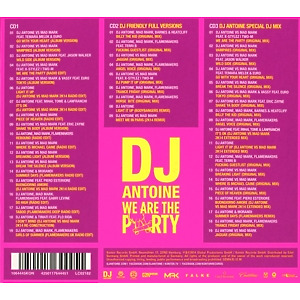 DJ Antoine - We Are The Party (Limited Edition) (Back)