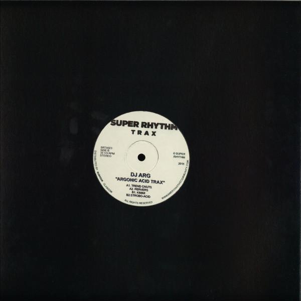 DJ Arg - Argonic Acid Track (Back)