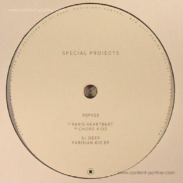 DJ Deep - Parisian Kid EP (Back)