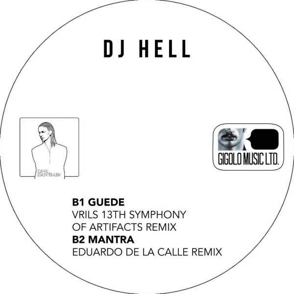 DJ Hell - Various Titles (Back)