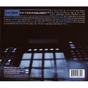 DJ Hi-Tek - Hi-Teknology Vol.3 (Back)