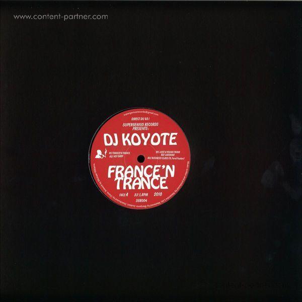 DJ Koyote - France'N Trance (Back)