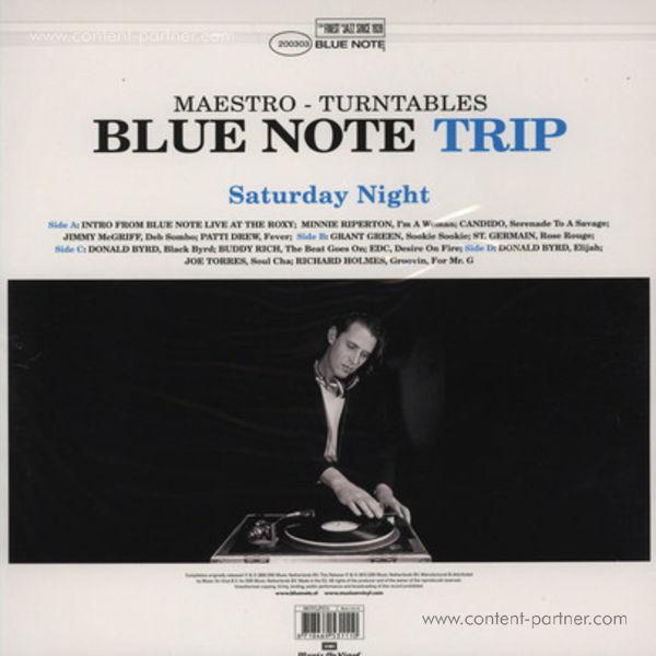 DJ Maestro - Various Artists - Saturday Night (Back)