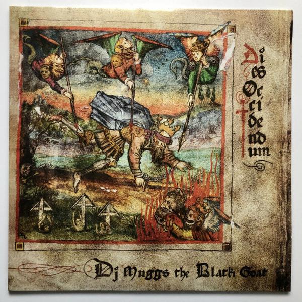 DJ Muggs The Black Goat - Dies Occidendum (Ltd. Red VInyl LP)