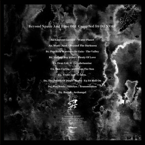 DJ NOBU - DJ NOBU PRESENTS: BEYOND SPACE AND TIME 001 (Back)