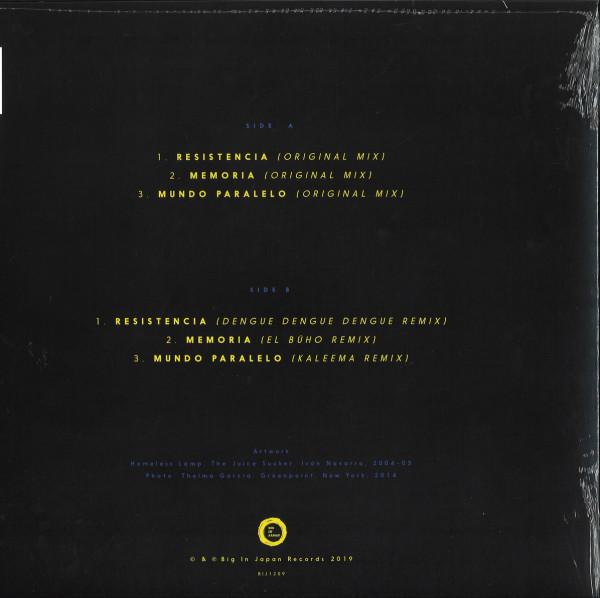 DJ Raff - Resistencia Remixes EP (Back)