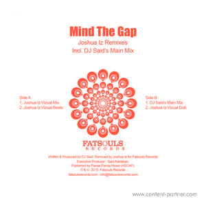 DJ Said - Mind the Gap (Joshua Iz Remixes)