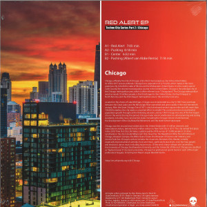 DJ Skull - Red Alert EP (Techno City Series Part 2 / Chicago) (Back)