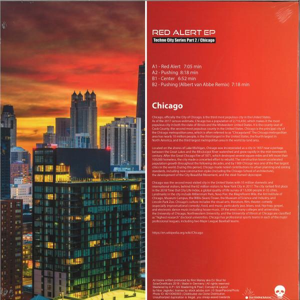 DJ Skull - Red Alert EP (Techno City Series Part 2 / Chicago) (Back)