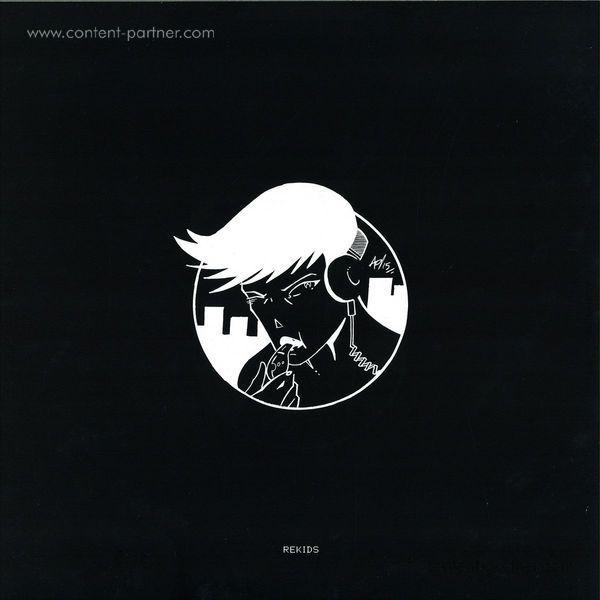 DJ Spider - Ninja Drive-by EP (Back)