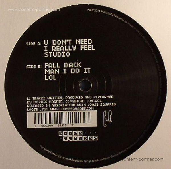 DJ Spinn - Man I Do It EP (Back)