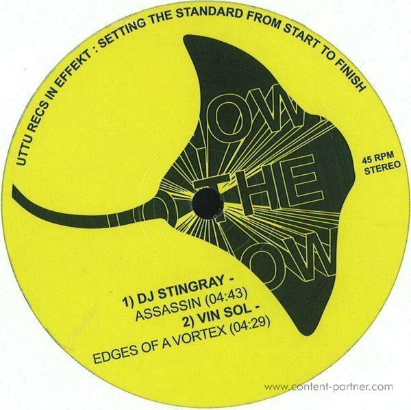 DJ Stingray / Vin Sol - Assassin/Edges of a Vortex