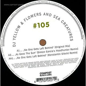 DJ Yellow & Flowers And Sea Creatures - Compost Black Label 105
