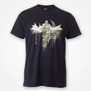 DMC T-SHIRT - DC Comics - Batman Graff (navy blue) M