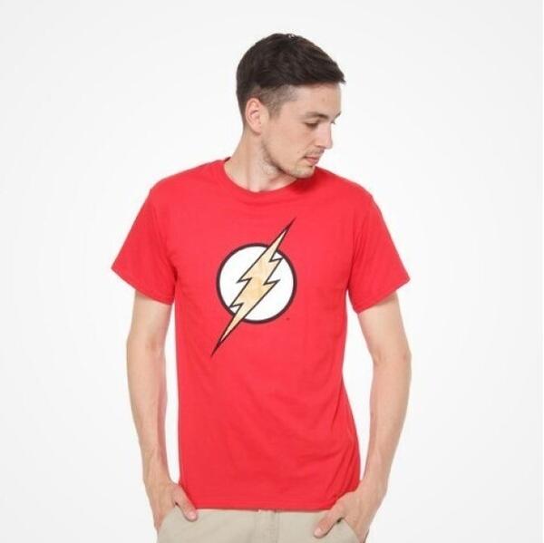 DMC T-SHIRT - DC Comics - Flash Logo (red) M