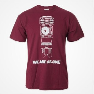 DMC T-SHIRT - WE ARE AS ONE (RED) L