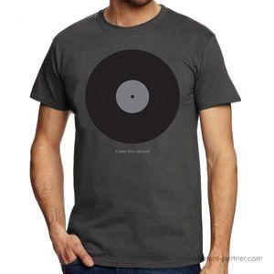 DMC T-Shirt - I Love This Record - Size M
