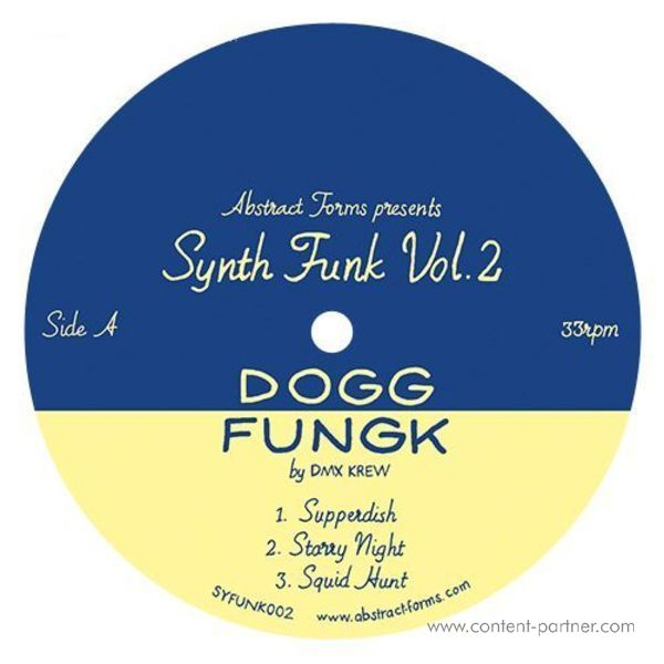 DMX Krew - Abstract Forms Synth Funk Vol.2 (Back)