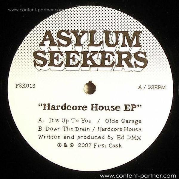 DMX Krew - Hardcore House EP (Back)