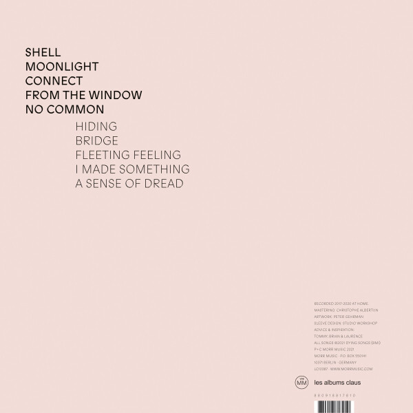 DNTEL - Away (LP) (Back)