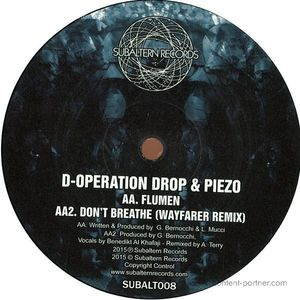 D-Operation Drop - Don't Breathe Ep