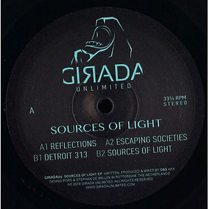 D&S - Sources of Light EP (Vinyl Only)