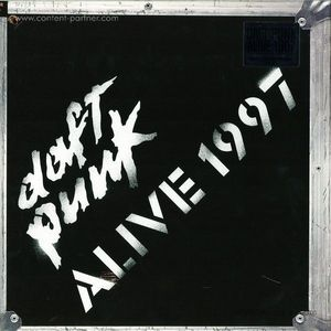 Daft Punk - Alive 1997 Single Vinyl Lp
