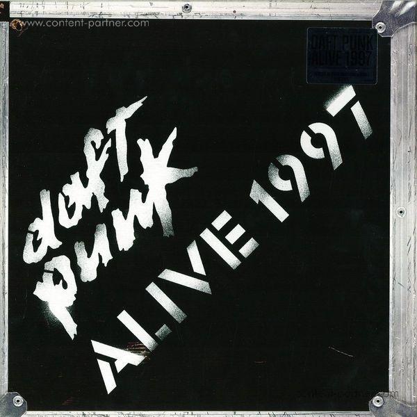 Daft Punk - Alive 1997 Single Vinyl Lp